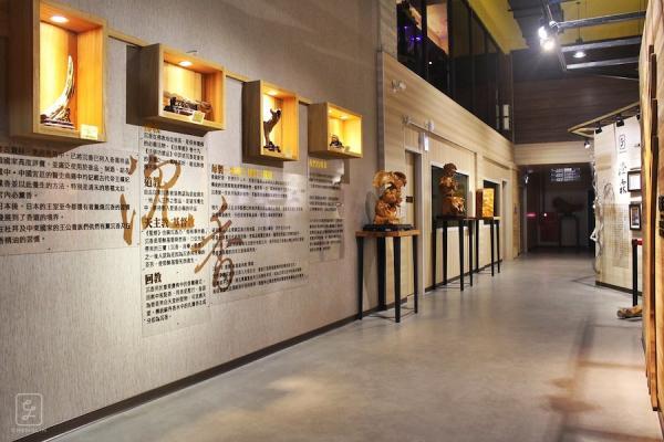 La salle d'exposition du musée de la forêt du bois d'agar de Cheng Lin. (Image : Musée de la forêt de ChengLin Agarwood)