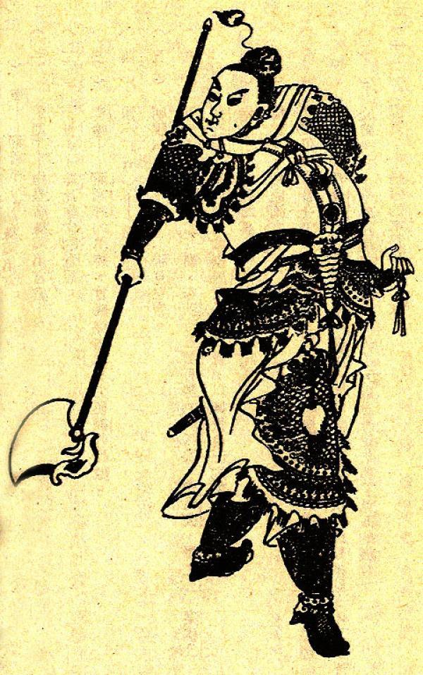 Portrait de Sun Ce. (Image : wikimedia / Domaine public)