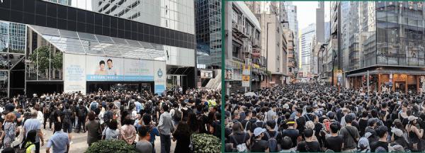 Hong Kong, la plus importante fenêtre économique de la Chine sur le monde extérieur, est en proie à des troubles en raison des protestations contre le régime chinois et contre la version hongkongaise de la loi sur la sécurité nationale, sanctionnée par les États-Unis. (Image : wikimedia / Wpcpey / CC BY-SA 4.0 & Studio Incendo / CC BY 2.0)