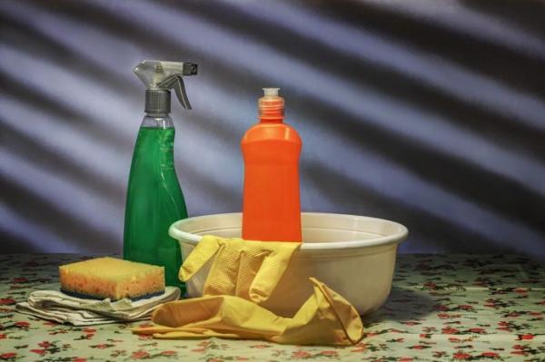 Les produits ménagers impacteraient le microbiome intestinal