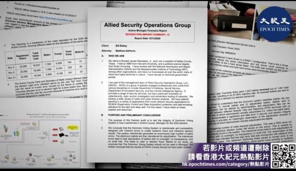 Fraude électorale: le rapport d'audit du Dominion publié