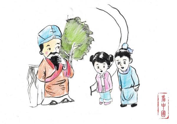 Monsieur Dou Yanshan devient meilleur et éduque ses enfants afin qu'ils soient des personnes vertueuses. (Image : Li Zhi / Vision Times France)