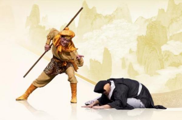 Le Roi des Singes et le Cochon aux Huit Voeux. (Photo : Shenyunperformingarts.org)