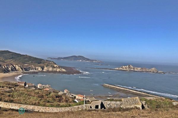 Un village de pêcheurs sur l'île de Dongju à Matsu. (Image : Billy Shyu / Vision Times)