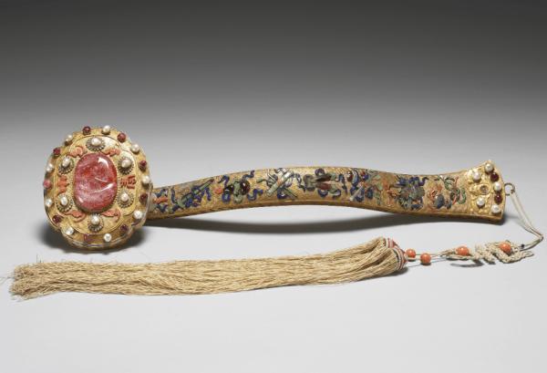 Ruyi: gratte-dos et artisanat traditionnel chinois