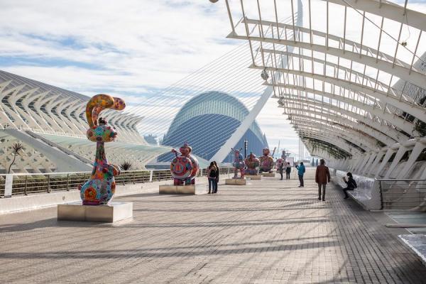 Les œuvres d'art fascinantes de Hung Yi exposées à la Cité des Arts et des Sciences en Espagne. (Image : Galerie d'art Hung Yi)