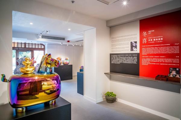 L'une des œuvres de Hung Yi exposées au Artspace K. de Hong Kong (Image : Hung Yi Art Gallery)