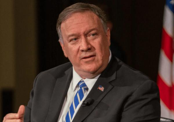 L'ancien secrétaire d'Etat américain Mike Pompeo a abordé plusieurs sujets, dont le coronavirus et la récente trêve avec les talibans. (Image : wikimedia / United States Federal Government / Domaine Public)