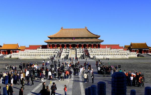 Cour extérieure permettant d'accéder au Palais de l'Harmonie suprême. (Image : Wikipédia / Gisling / CC BY 3.0)