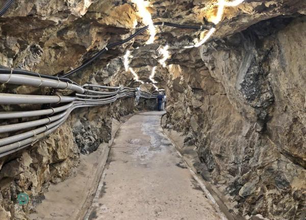 Le tunnel de la forteresse de Dahan (大漢 據點) à Nangan, Matsu. (Image : Billy Shyu / Vision Times)