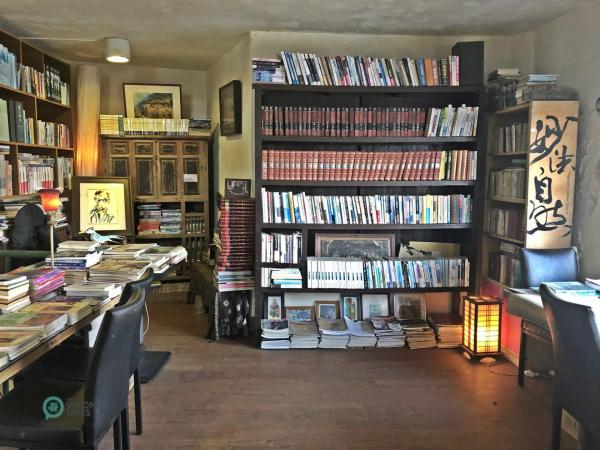 La librairie de la Forteresse 12 (南竿 12 據點) à Nangan, Matsu. (Image : Billy Shyu / Vision Times)
