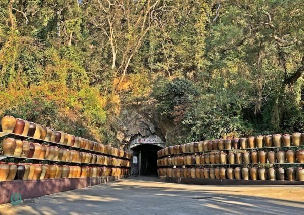 Le tunnel 88 (八八 坑道) à Nangan, Matsu. (Image : Billy Shyu / Vision Times)