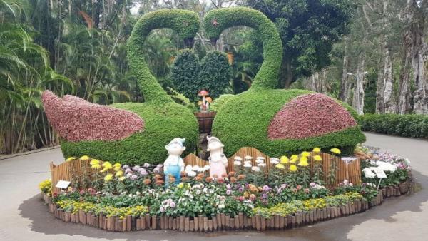 Taipei Shilin Residence est l'une des attractions les plus populaires de Taipei. (Image : avec l'aimable autorisation de Li Jihong)