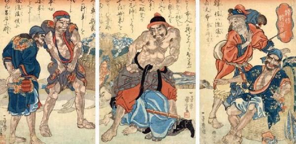 Han Xin n'a pas esquissé un seul geste visant à tuer ce bandit et, devant de nombreux spectateurs, il a rampé entre les jambes du bandit. Les livres d'histoire appellent cet incident «subir l'humiliation de ramper entre les jambes». (Image : Wikimedia / CC CC0)