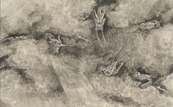 Le dragon était considéré comme la divinité chargée de la pluie. (Image : Musée Nationale du Palais deTaiwan / @CC BY 4.0)