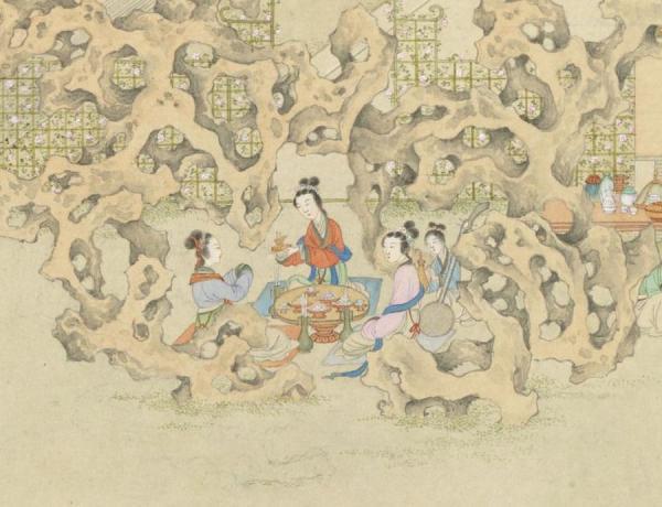 Festival de Zhonghe. (Image : Musée Nationale du Palais deTaiwan / @CC BY 4.0)