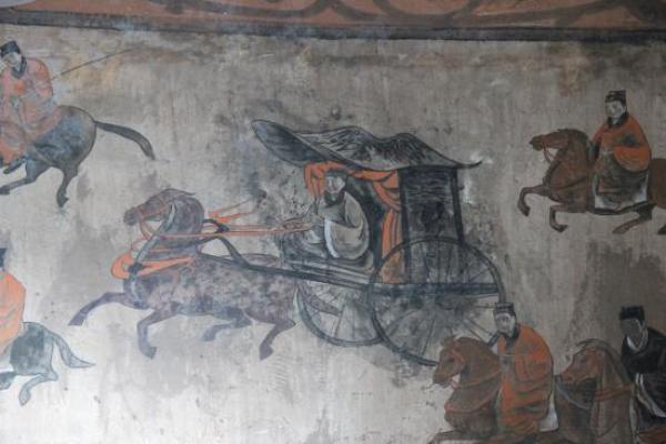 «Si vous voulez toujours conquérir le monde, personne d'autre n'est plus capable que Han Xin pour vous aider dans vos projets. C'est à votre Majesté de décider», a précisé Xiao He à Li Bang. (Image : wikimedia / Ancient Chinese artists of the late Eastern Han period / Domaine public)