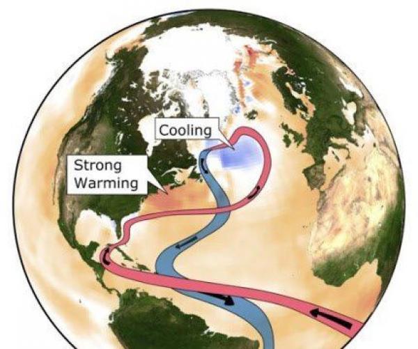 La circulation océanique géante est pertinente pour les modèles météorologiques en Europe et les niveaux régionaux de la mer aux Etats-Unis. Son ralentissement est également associé à une «zone froide» observée dans l'Atlantique Nord.(Image : Levke Caesar)