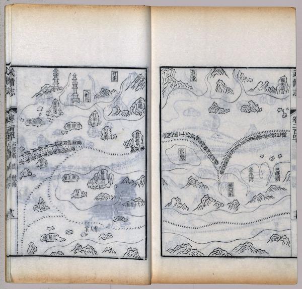 Chemin parcouru par Zheng He. (Image : wikimedia / Mao, Yuanyi / Domaine public)