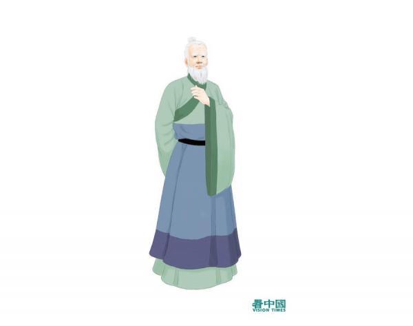 Portrait de Sun Simiao. (Image : Zhiqing / Secretchina)
