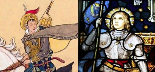 Analogies entre Mulan et Jeanne d'Arc (3/10)