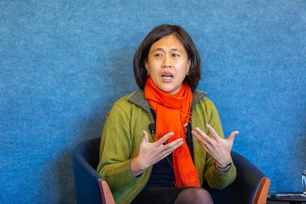 Le président Joe Biden a désigné Katherine Tai au poste de représentante au commerce. (Image : wikimedia / Inter-American Dialogue / CC BY 2.0)