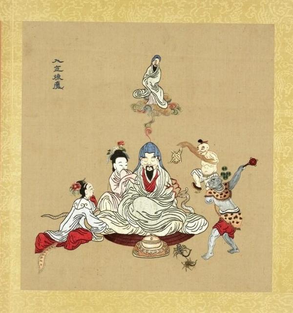Les médecins chinois anciens pouvaient développer des pouvoirs supranormaux et réaliser diverses prouesses physiques et spirituelles hors du commun. (Image : Musée Nationale du Palais deTaïwan / @CC BY 4.0)