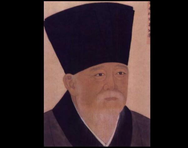 Portrait de Kou Zhun. (Image : wikimedia / Domaine public)