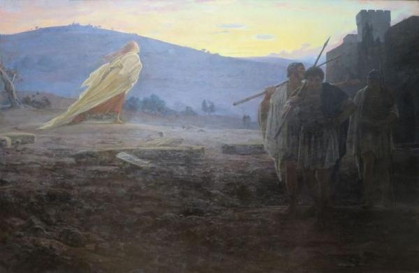 Hérauts de la résurrection », une peinture de Nikolay Ghe, 1867 (Image:wikimedia/Nikolai Ge / Domaine public)