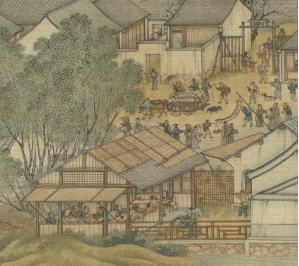 Le poète dépeint une scène de la vie du quotidien et ajoute du dynamisme à son poème. (Image : Musée Nationale du Palais deTaïwan /@CC BY 4.0)