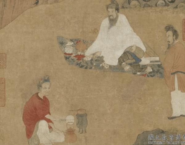 Le «Dharma Talk» de Tang Yin dans la dynastie Ming. (Image : Musée Nationale du Palais deTaïwan /@CC BY 4.0)