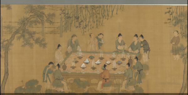 Dynastie des Song : l'empereur Huizong et les dix-huit érudits. (Image : Musée Nationale du Palais deTaïwan / @CC BY 4.0)