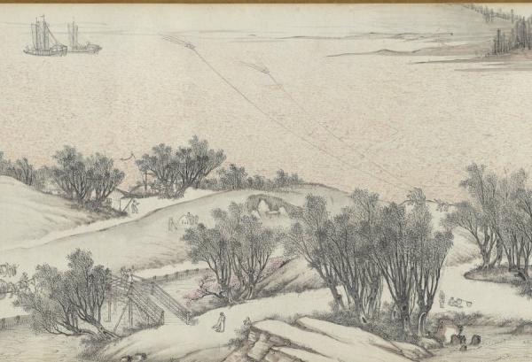 Sous la dynastie Qing, les busards en papier étaient utilisés pour prier afin d'éviter les catastrophes et recevoir la bonne fortune. Un proverbe de l'époque disait que « les busards étaient utilisés pour éviter les catastrophes lors du Festival de Qing Ming ». (Image : Musée Nationale du Palais deTaïwan / @CC BY 4.0)