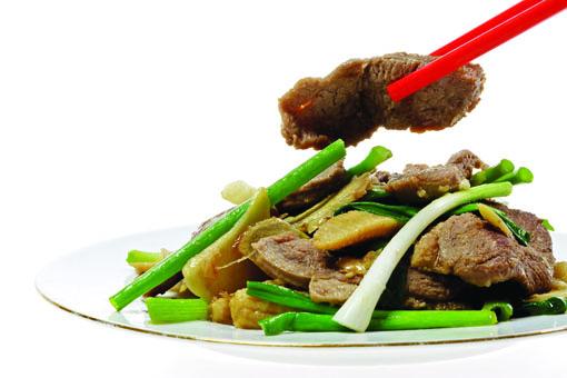 Recette chinoise facile: Canard sauté au gingembre