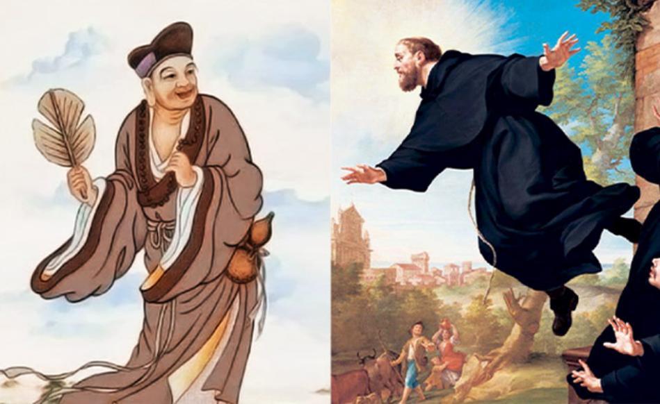 Analogies entre Ji Gong et Joseph de Cupertino (4/10)
