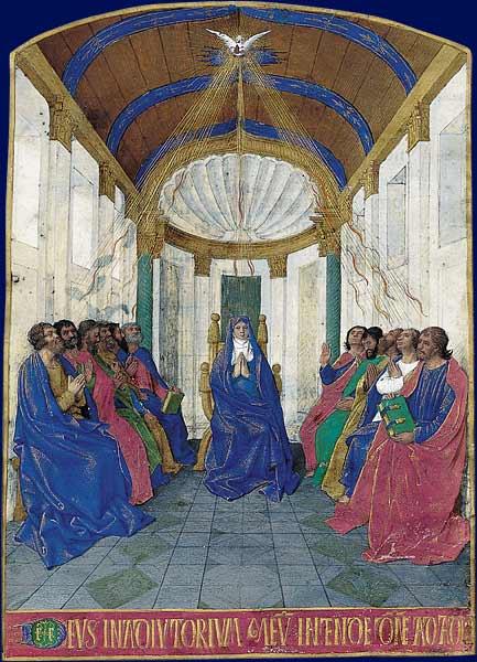Que s'est-il passé le jour de la Pentecôte, début de la mise en place de la foi chrétienne?