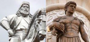 Figures historiques analogues 6/10 : Genghis Khan et Alexandre le Grand