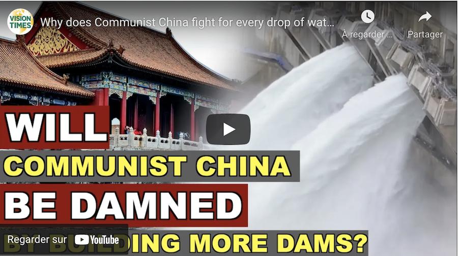 La Chine communiste crée le chaos en mobilisant les ressources en eau