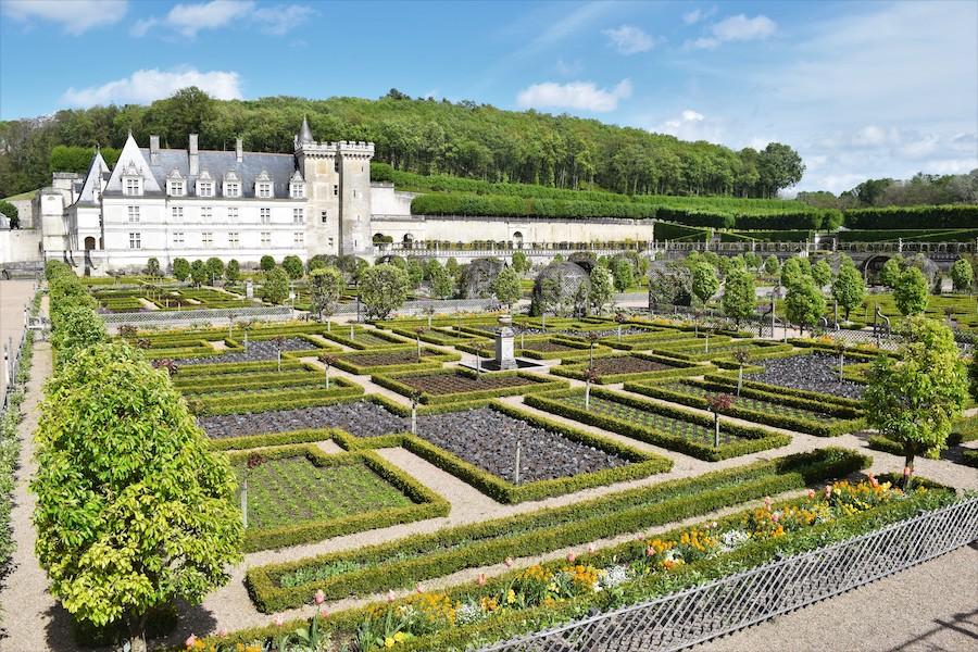 Le ravissant domaine du château de Villandry : un site inspirant aux jardins traditionnels remarquables