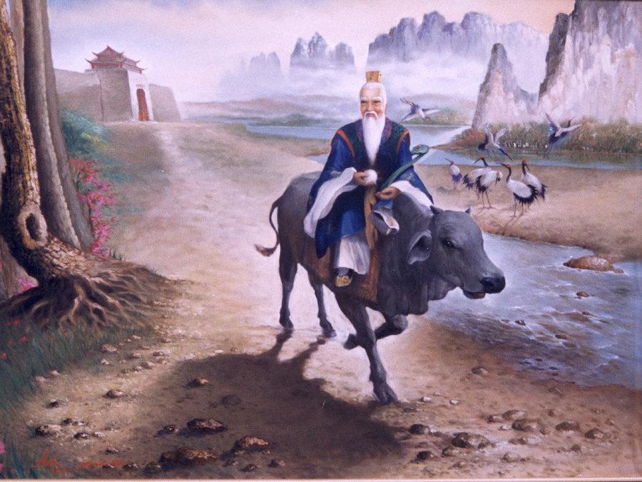 Héros de la Chine ancienne : Le grand maître spirituel Lao Tseu