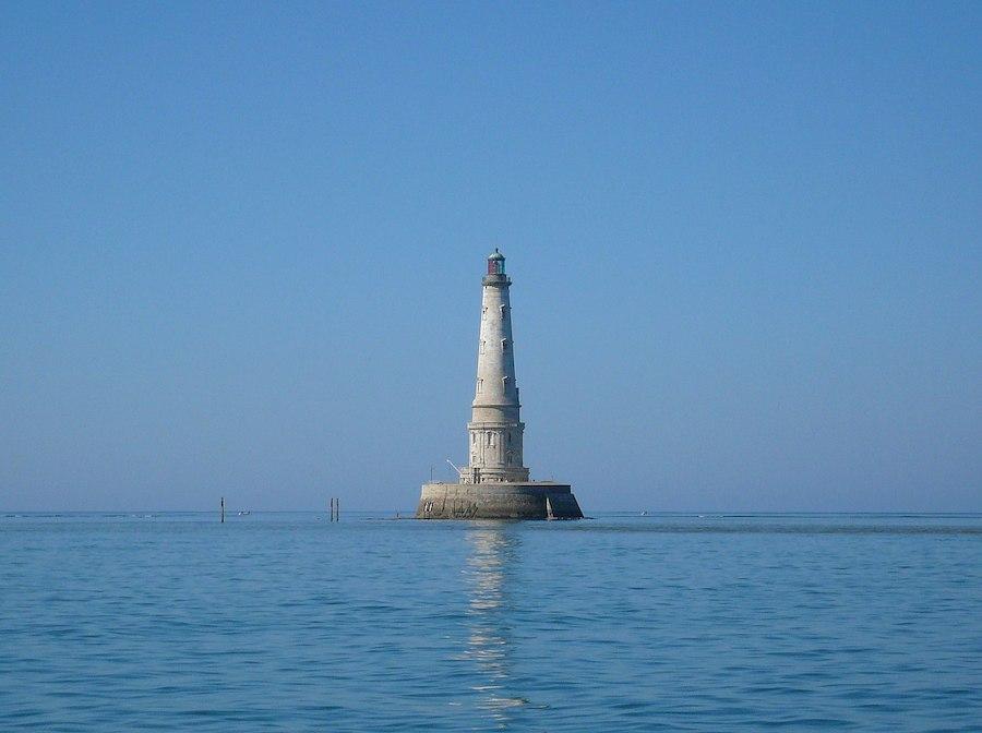 Le phare de Cordouan en Gironde, l'un des nouveaux sites inscrit au patrimoine mondial 2021 par l'UNESCO