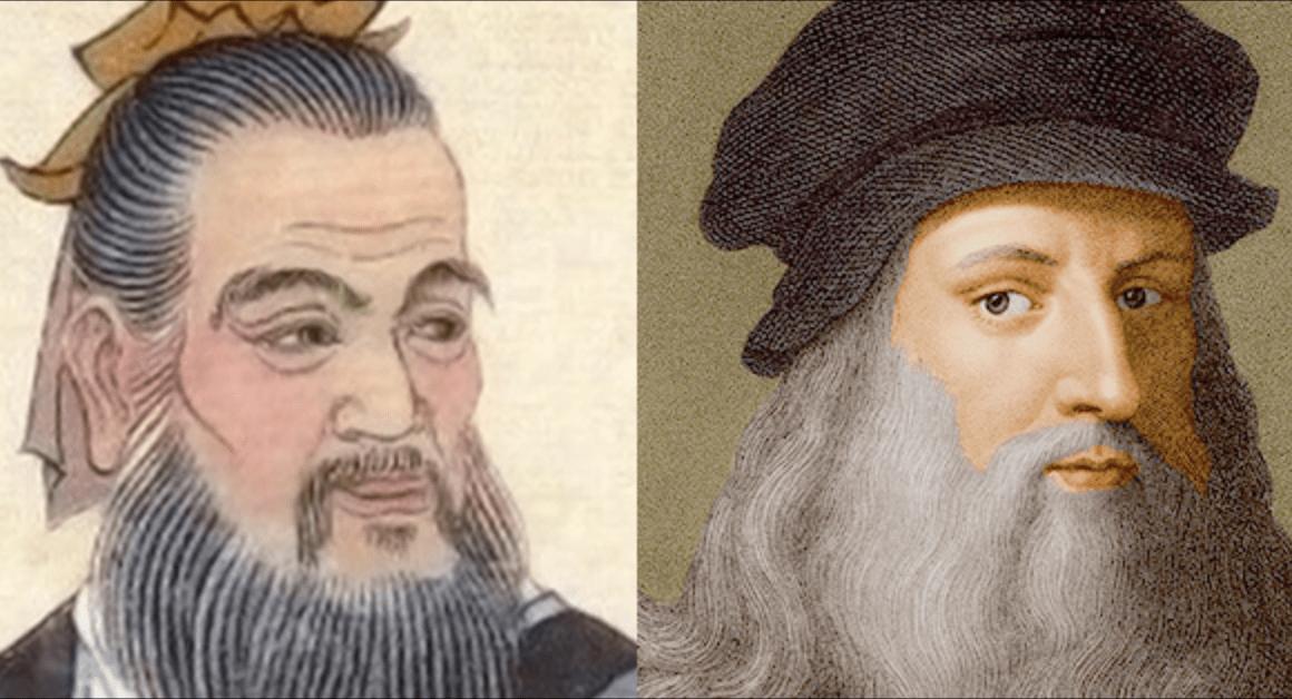 Analogies entre Léonard de Vinci et Lu Ban