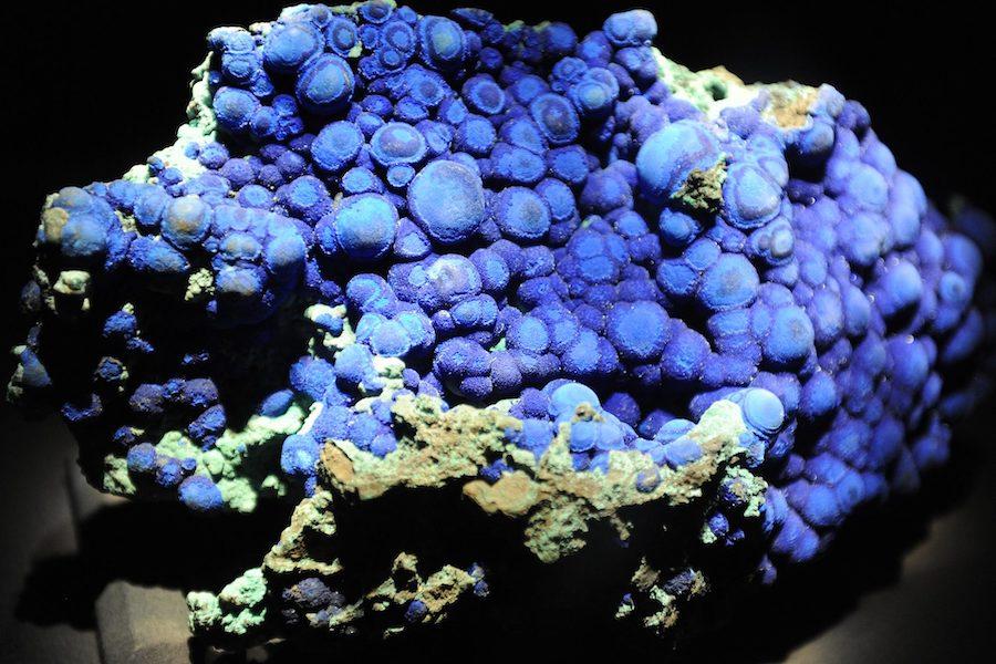L'azurite : la pierre chantante à l'étonnante teinte bleu crépuscule