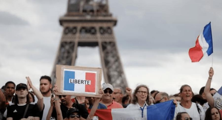 Manifestations contre le pass sanitaire: mobilisation soutenue le 11 septembre en France