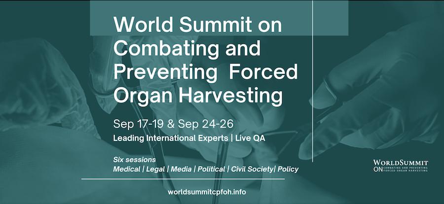 Le Sommet mondial sur la lutte et la prévention du prélèvement forcé d'organes