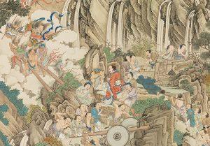 La contribution de Yu le Grand dans l'histoire de la Chine après le grand déluge